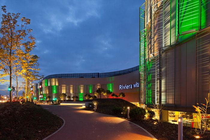 Galeria Riviera w Gdyni. Projekt: Valode & Pistre / Michalewicz + Tański