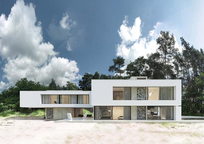 Dom w Płocku. Projekt: Reform Architekt
