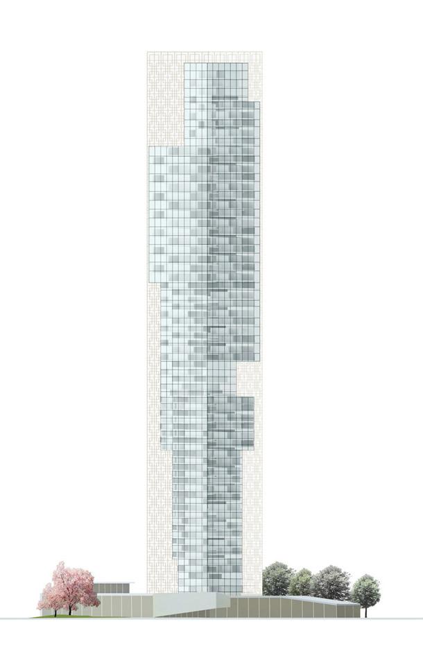 Xiang River Tower w Changsha. Projekt: RRC Studio