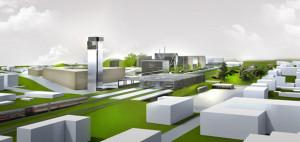 Zagospodarowanie terenów w Stargardzie Szczecińskim. Autorzy: SAS Studio Architektoniczne Sietnicki