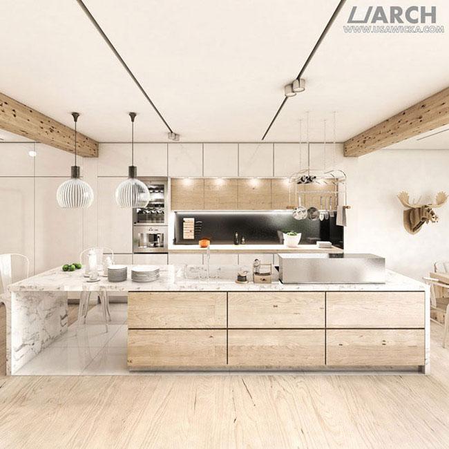 Wnętrza posiadłości w Richmond, Londyn. Projekt: Urszula Sawicka Architekt