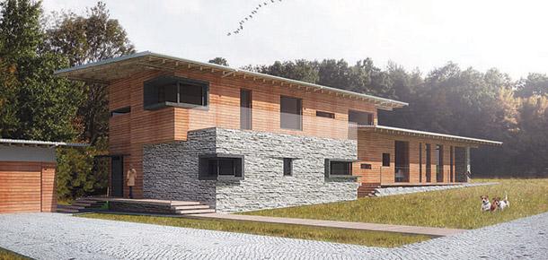 Dom pod Jarem. Projekt: BXB Studio Bogusław Barnaś