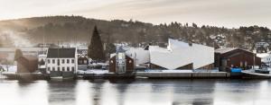 Muzeum Morskie w Porsgrunn. Projekt: COBE Architects / Zdj.: Rasmus Hjortshoj