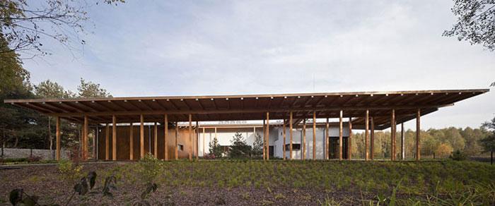 Dom w Czarnowie. Projekt: Grupa 5 Architekci