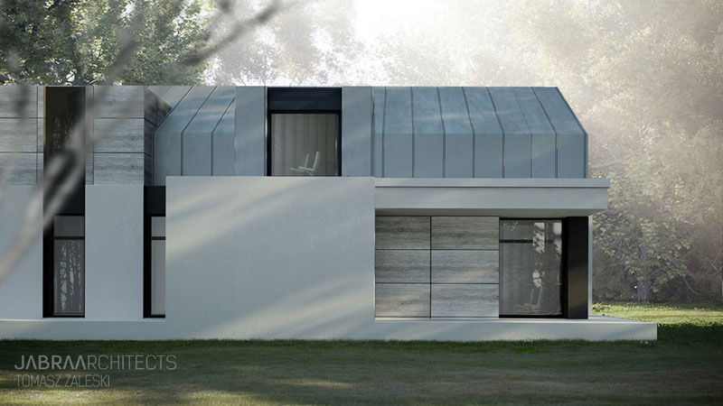 Forrest House we Wrocławiu. Projekt: JABRA Architects
