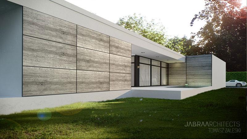 Forrest House we Wrocławiu. Projekt: JABRA Architects