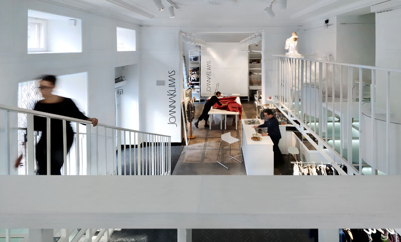 Atelier Joanny Klimas. Projekt: OTOMI Store Design Lab