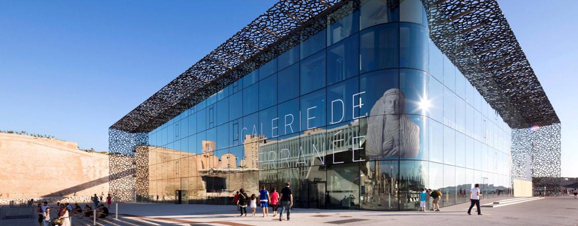 Muzeum Cywilizacji Europejskiej i Śródziemnomorskiej. Projekt: Rudy Ricciotti Architecte