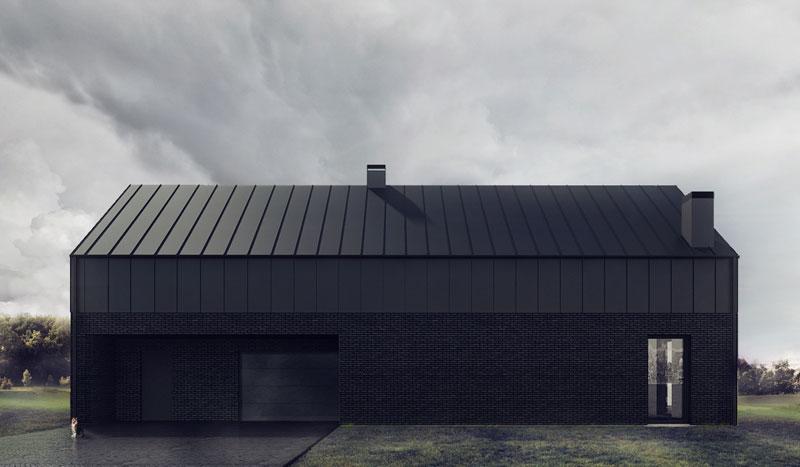 Czarny Dom w Lublinie. Projekt: 081 Architekci