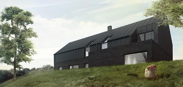 Czarny Dom. Projekt: 081 Architekci