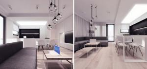 Nowoczesne mieszkanie w Lublinie – 081 Architekci