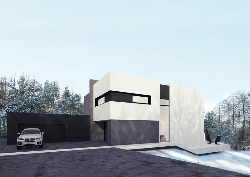Dom w Zofiówce. Projekt: Reform Architekt