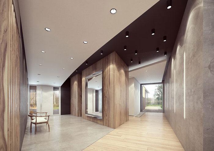 Aranżacja wnętrz Domu na Rudzie. Projekt: Reform Architekt
