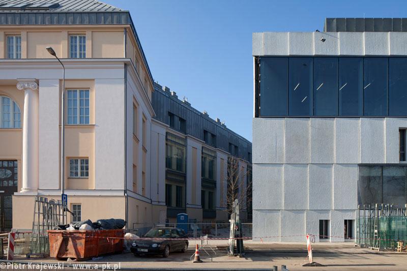 Akademia Sztuk Pięknych w Warszawie. Zdjęcia z budowy: Piotr Krajewski
