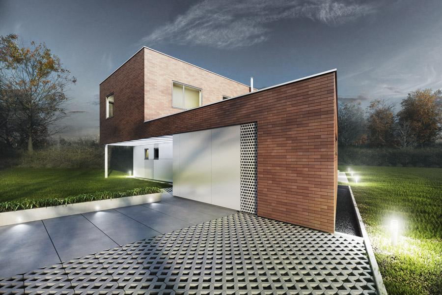Dom w Rybniku. Projekt: MODERO Architekci