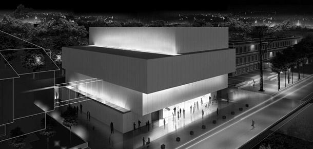 Sala Koncertowa w Jastrzębiu. Autorzy: toprojekt + a-rp architekt Rafał Paszenda