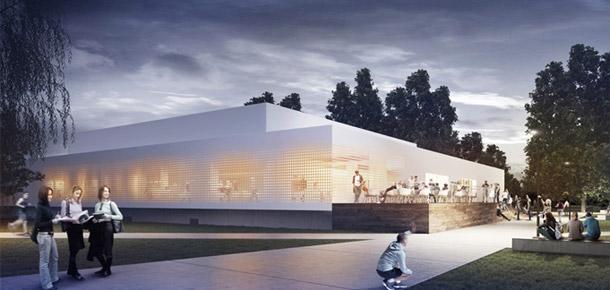 Przebudowa Klubu Studio w Krakowie. Projekt: Pracownia Architektoniczna WXCA