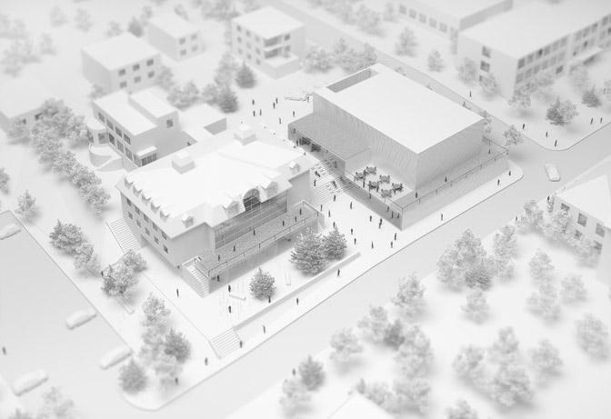Sala Koncertowa w Jastrzębiu. Projekt: Pracownia Architektoniczna WXCA