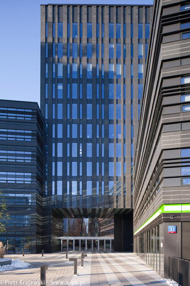 Kompleks biurowy Wola Center. Projekt: Kuryłowicz & Associates Zdjęcia: Piotr Krajewski