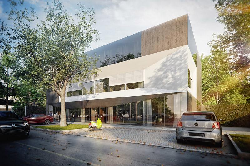 KOOPERATYWA - Budynek wielorodzinny projektu KMA Kabarowski Misiura Architekci