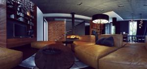 Wnętrze domu w Umiastowie – OSOM Group