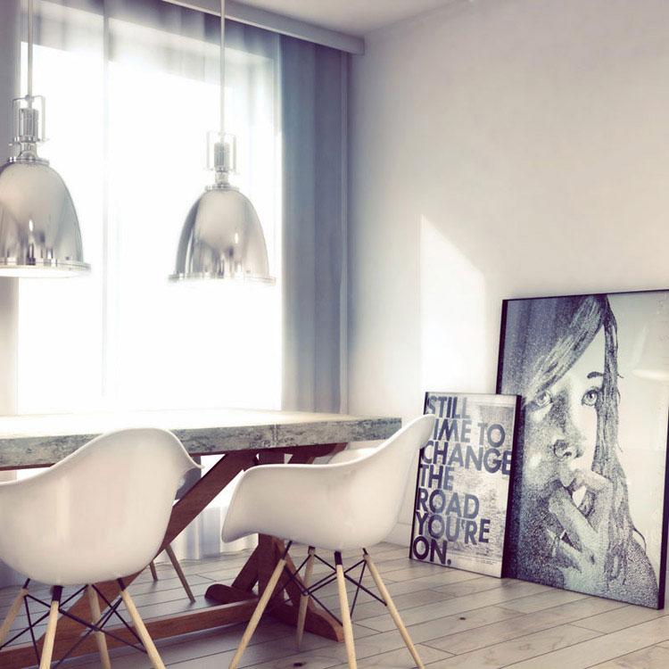 Apartament na Starym Mokotowie. Projekt: OSOM Group