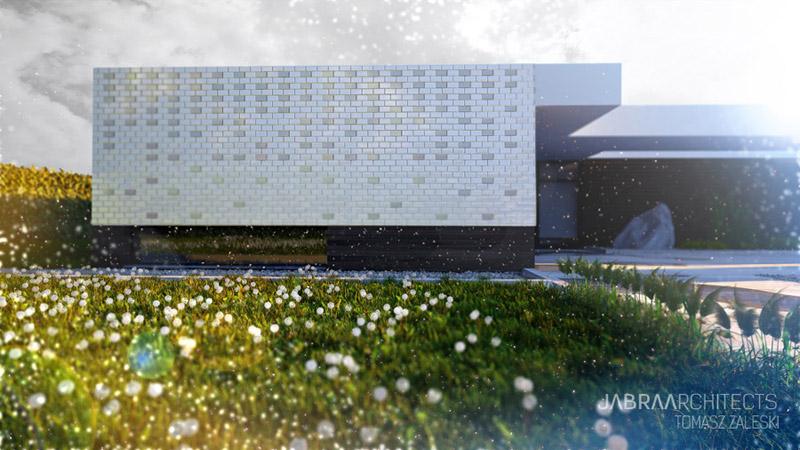 Dom w Żłobiźnie. Projekt: Jabra Architects