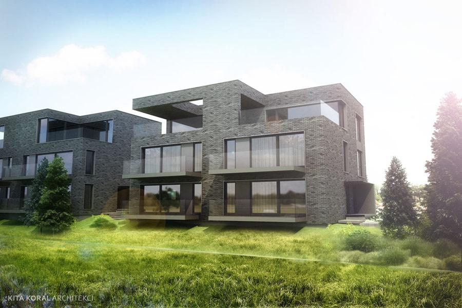 Apartamenty LEA 251 w Krakowie. Projekt: KITA KORAL Architekci