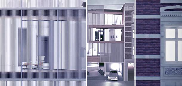 Budynek wielorodzinny w Łodzi. Projekt: OSOM Group