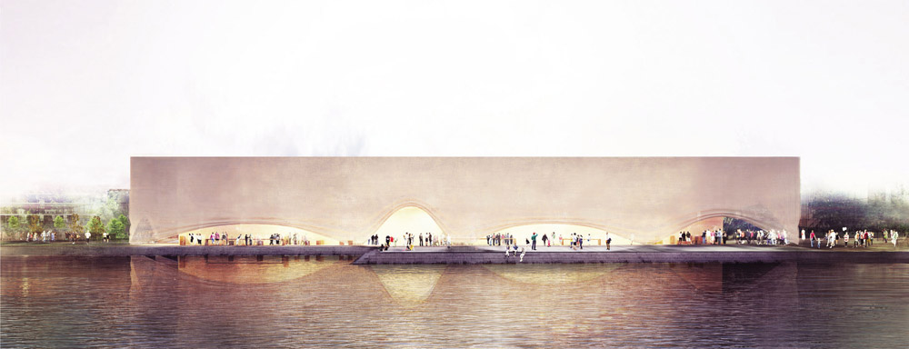 Pawilon Polski na EXPO 2015. Projekt: Pracownia Architektoniczna WXCA