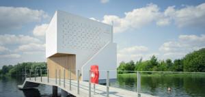 Dom na Wodzie – 90 Stopni Architekci