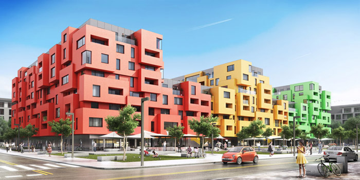 Urbancube. Projekt: Ad Artis Architects