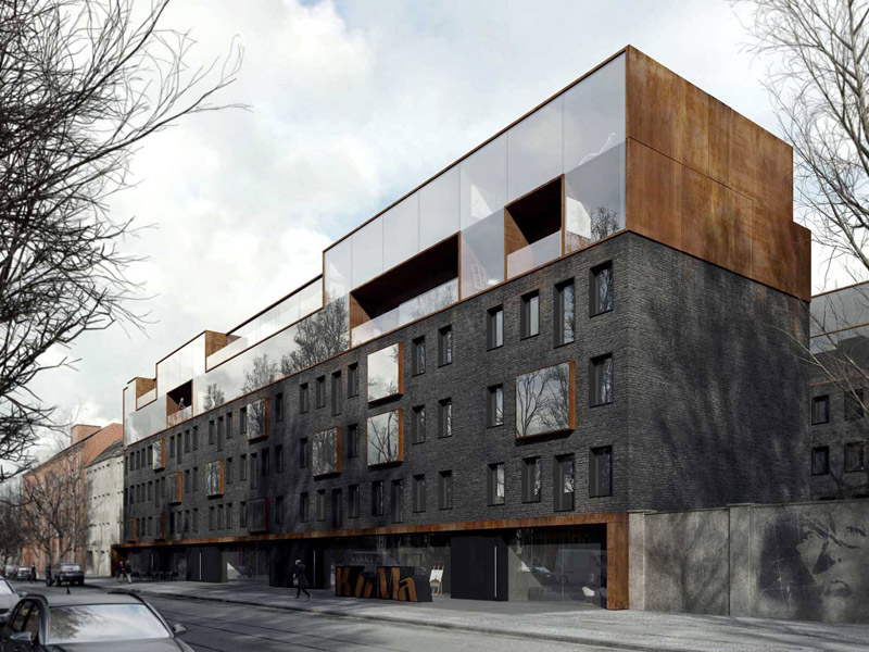 Centrum Kulturalne w Berlinie. Projekt: EASST.COM