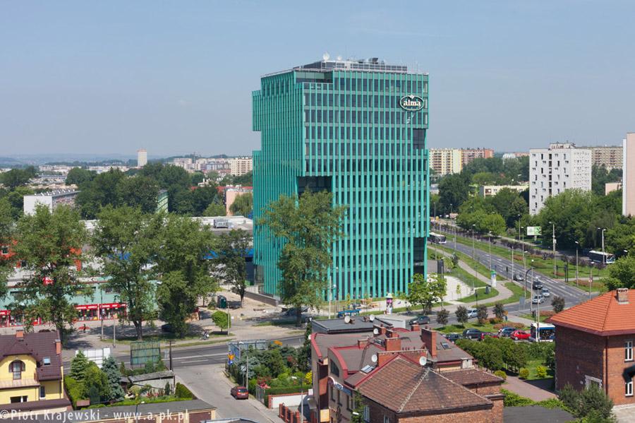 Alma Tower w Krakowie. Projekt: nsMoonStudio | Wizja | UBM Polska. Zdj. Piotr Krajewski