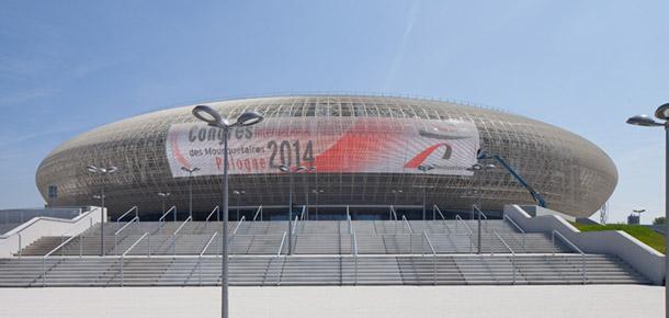 Hala widowiskowo-sportowa Kraków Arena Autorzy: Perbo Projekt | Modern Construction