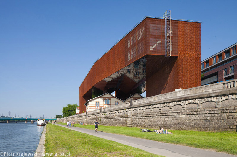 Muzeum Tadeusza Kantora i ODSTK Cricoteka w Krakowie. Projekt: nsMoonStudio | Wizja. Zdjęcie: Piotr Krajewski