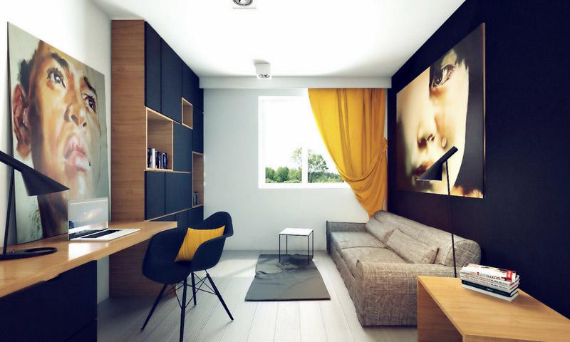 Wnętrze domu w Justynowie. Projekt: OSOM Group