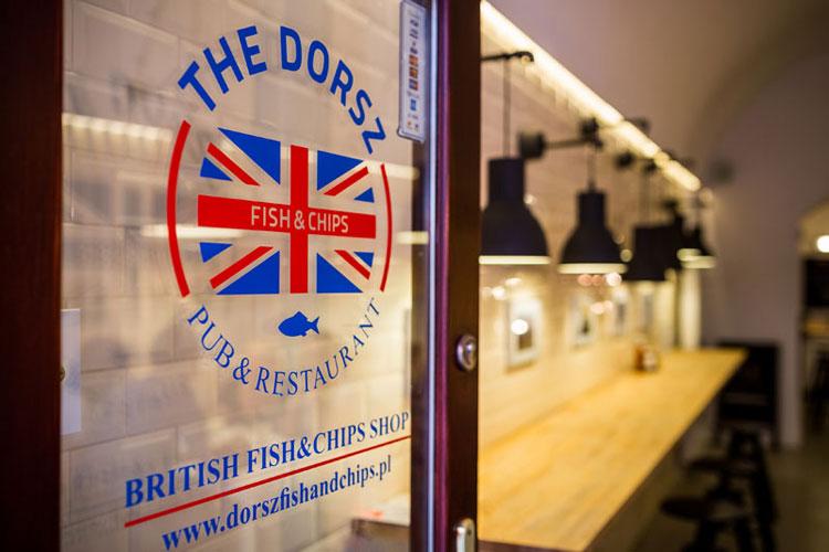 Restauracja The Dorsz w Krakowie. Projekt: Libido Architekci
