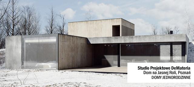 Dom na Jasnej Roli w Poznaniu - Studio Projektowe DeMateria