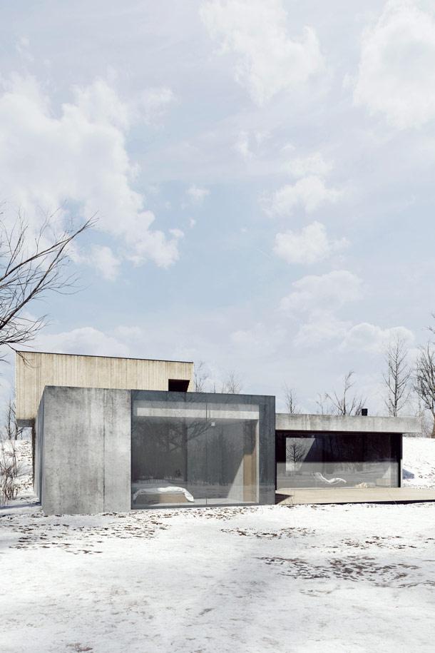 Dom na Jasnej Roli w Poznaniu. Autorzy: Studio Projektowe DeMateria