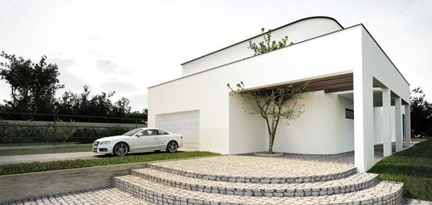 Willa pod Łodzią. Projekt: Libido Architekci