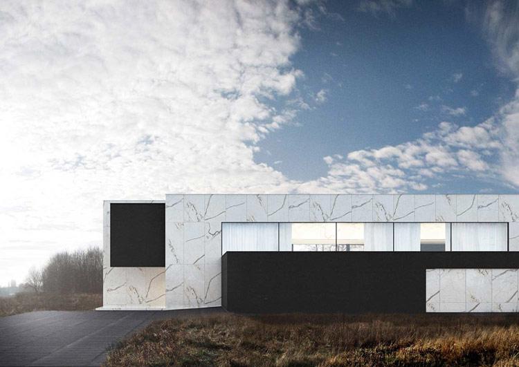 Dom na Złotnie. Projekt: Reform Architekt