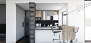 Aranżacja wnętrz domu w Lesznie – Adam Wierciński Architekt