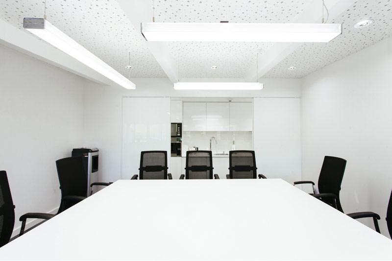 Wnętrza biurowe dla spółki GSW w Warszawie. Projekt: 22 Architekci