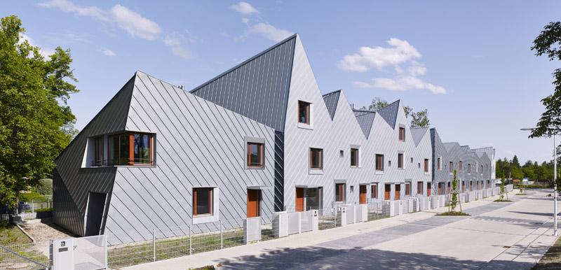 Osiedle domów mieszkalnych MIKMAK we Wrocławiu Zdjęcie: Cornelia Suhan. Projekt: Fabryka Projektowa ARC2