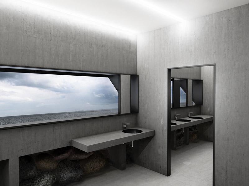 Projekt toalety publicznej w Gdyni. Autor: Adam Wierciński
