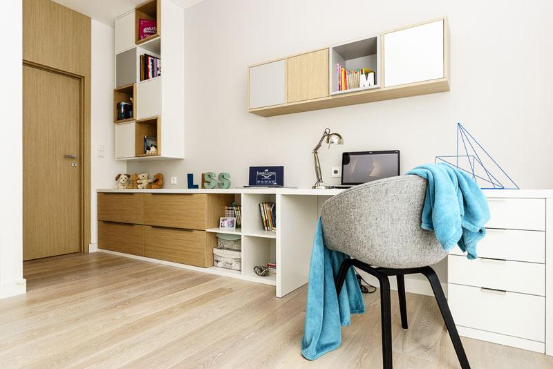 Wnętrza Apartamentu na Nowym Orłowie w Gdyni. Autorzy: Pracownia Projektowa Dragon Art