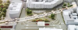 """Konkurs na opracowanie """"Koncepcji kształtowania przestrzeni publicznej w rejonie Rynku w Chorzowie."""""""