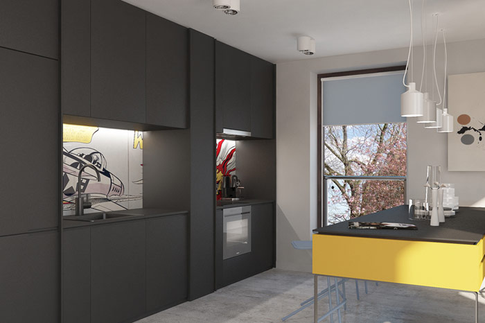 Projekt wnętrz: Łukasz Kosakowski Studio
