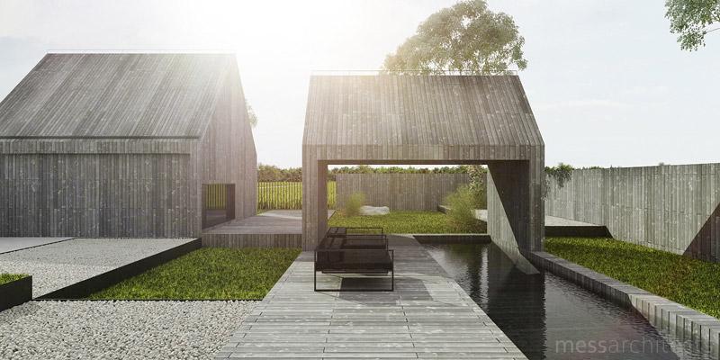 Dom letniskowy MM. Projekt: Mess Architects